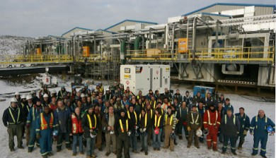 TFT barge construction group. Engineering, procurement & construction of pump barges Edmonton, Calgary, Alberta