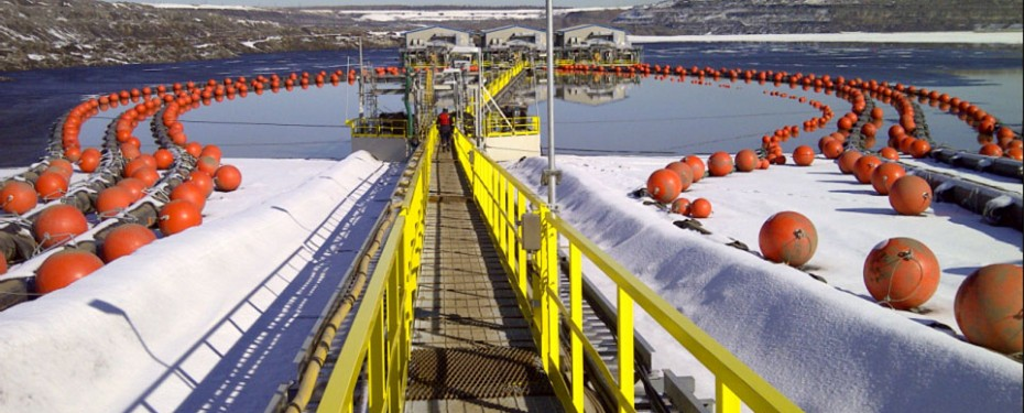 Tailings pump barges, pipeline engineering alberta, pipeline engineers calgary and edmonton.