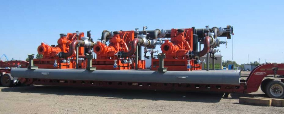 portable oil extraction skids, pump skid engineer alberta, mine tailings solution pump engineering canada