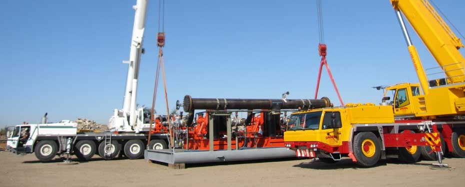 portable oil extraction skids, fluid engineering, pipeline engineering alberta