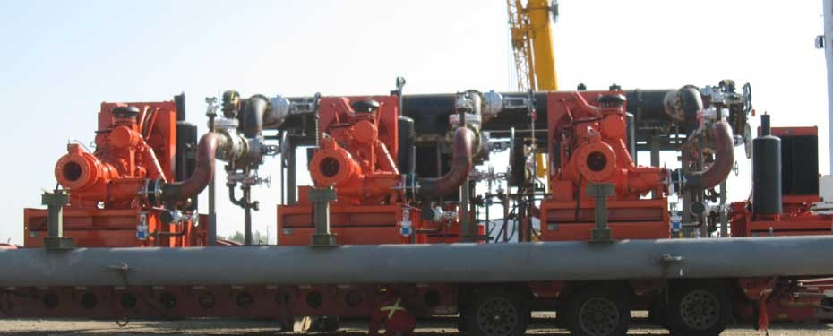 Syncrude Pump Skid Engineering Canada, portable oil extraction skids