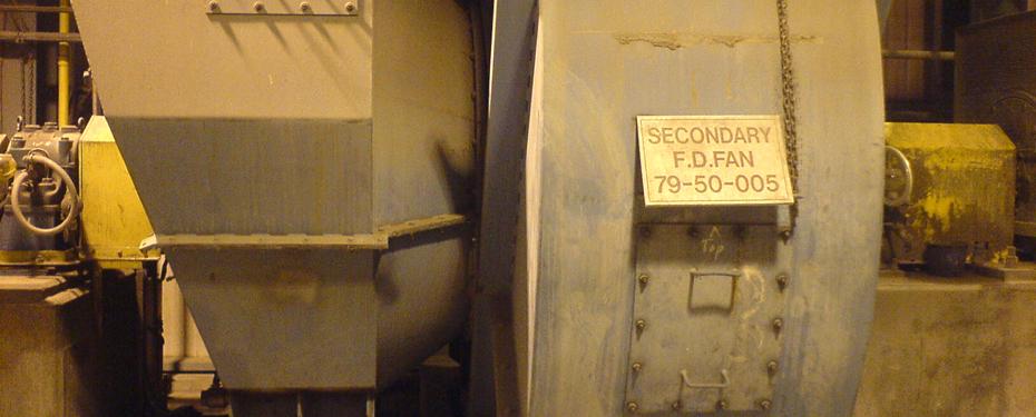 Boiler Fan Power Reduction