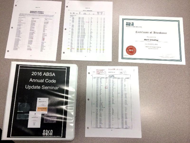 ABSA Course Materials